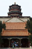Palacio de verano de Bejing en China Fotos de archivo libres de regalías