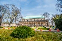 Palacio de verano de la reina Anne Fotos de archivo libres de regalías