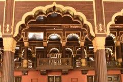 Palacio de verano del ` s del sultán de Tipu, Bangalore foto de archivo