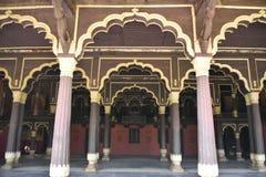 Palacio de verano del ` s del sultán de Tipu, Bangalore fotos de archivo