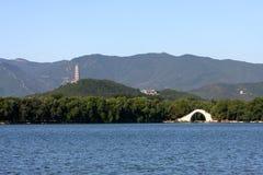 Palacio de verano en Pekín Imagen de archivo libre de regalías