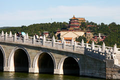 Palacio de verano en Pekín Imagen de archivo