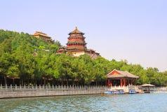 Palacio de verano en Pekín, China imagen de archivo libre de regalías