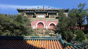 Palacio de verano en Pekín, China fotografía de archivo libre de regalías
