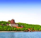 Palacio de verano en Pekín, China foto de archivo libre de regalías