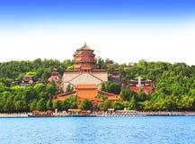 Palacio de verano en Pekín, China imagenes de archivo
