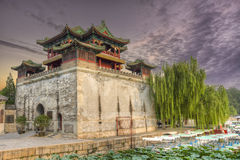 Palacio de verano - Pekín China Imagen de archivo libre de regalías