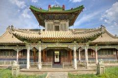 Palacio de verano, Ulaanbaatar Foto de archivo