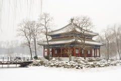 Palacio de verano viejo de Pekín foto de archivo libre de regalías
