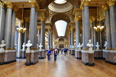 Palacio de Versalles en Ile de France Fotos de archivo