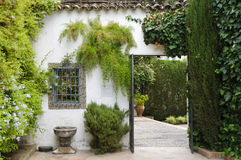 Palacio de Viana - Typical Andalusian patio Stock Photo