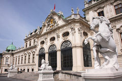 Palacio de Viena Fotografía de archivo libre de regalías