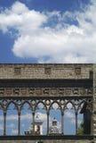 Palacio de Viterbo del papa Foto de archivo