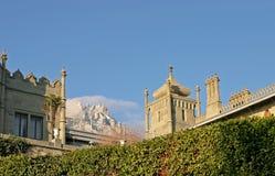 Palacio de Vorontsovsky. Crimea Fotos de archivo libres de regalías