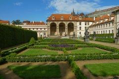 Palacio de Wallenstein en Praga Imagenes de archivo
