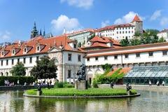 Palacio de Wallenstein, Praga, República Checa Imagen de archivo