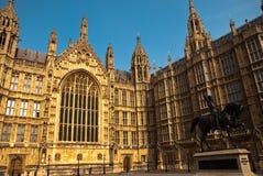 Palacio de Westminster Fotos de archivo libres de regalías