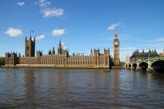 Palacio de Westminster Imágenes de archivo libres de regalías
