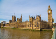 Palacio de Westminster Fotografía de archivo