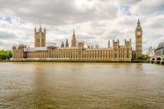 Palacio de Westminster, casas del parlamento, Londres Fotografía de archivo libre de regalías