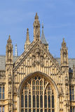 Palacio de Westminster, detalles, Londres, Inglaterra, Reino Unido Imagen de archivo libre de regalías