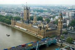 Palacio de Westminster en Londres Fotografía de archivo libre de regalías