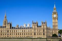Palacio de Westminster en Londres Fotografía de archivo