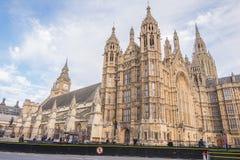 Palacio de Westminster en Londres Reino Unido Imagenes de archivo