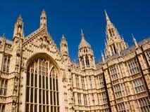 Palacio de Westminster Londres imagen de archivo libre de regalías