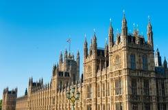 Palacio de Westminster, Londres Fotos de archivo libres de regalías