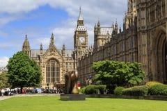 Palacio de Westminster, Londres Fotografía de archivo libre de regalías