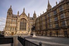Palacio de Westminster Londres Imagenes de archivo