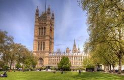 Palacio de Westminster Londres Fotografía de archivo libre de regalías