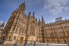 Palacio de Westminster Londres Foto de archivo libre de regalías