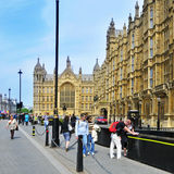 Palacio de Westminster, Londres, Reino Unido Fotos de archivo libres de regalías