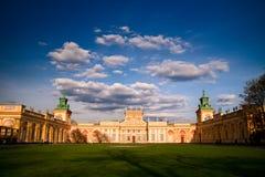 Palacio de Wilanow Fotos de archivo libres de regalías