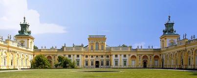 Palacio de Wilanow Imágenes de archivo libres de regalías