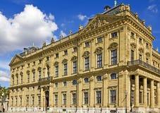 Palacio de Wurzburg Fotos de archivo libres de regalías