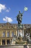 Palacio de Wurzburg imagen de archivo