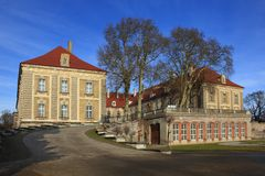 Palacio de Zagan Foto de archivo libre de regalías