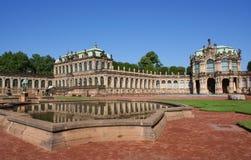 Palacio de Zwinger en Dresden Imágenes de archivo libres de regalías