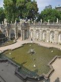 Palacio de Zwinger en Dresden Fotos de archivo libres de regalías