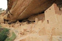 Palacio del acantilado del Mesa Verde Imagenes de archivo
