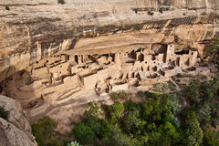 Palacio del acantilado en el parque nacional del Mesa Verde, Colorado Fotos de archivo