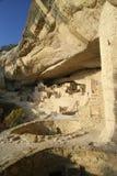 Palacio del acantilado, Mesa Verde imagen de archivo