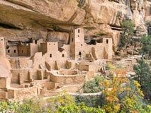 Palacio del acantilado, parque nacional del Mesa Verde Imagen de archivo libre de regalías