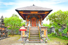 Palacio del agua de Mayura, Mataram, Lombok fotografía de archivo libre de regalías