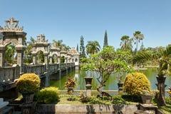 Palacio del agua de Soekasada Ujung Imagen de archivo libre de regalías
