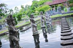 Palacio del agua de Tirtaganga Foto de archivo