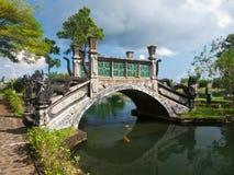 Palacio del agua del Balinese Fotos de archivo libres de regalías